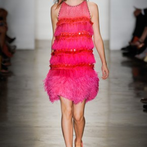 Pink Dress Peter Som